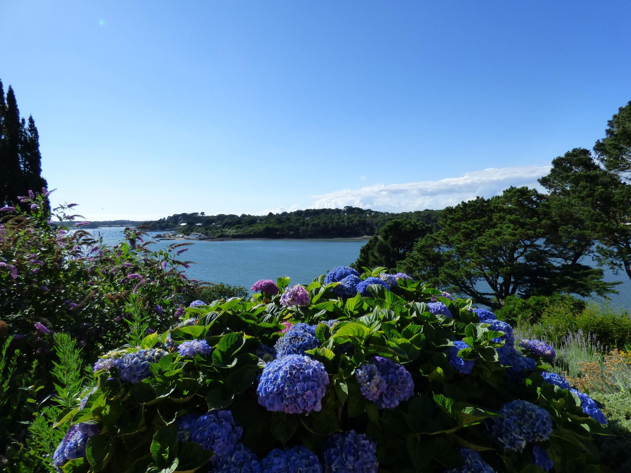 Belle vue mer pour cette villa