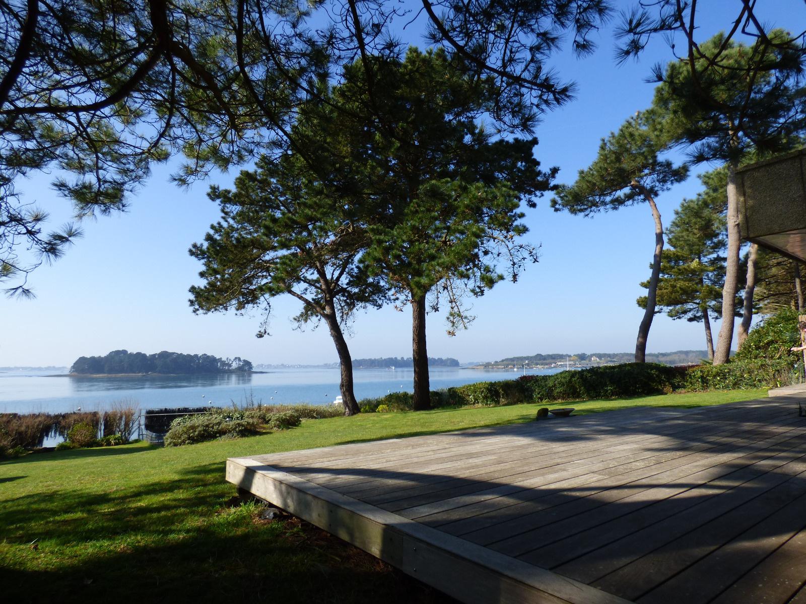 Maison a vendre bretagne sud morbihan bord de mer